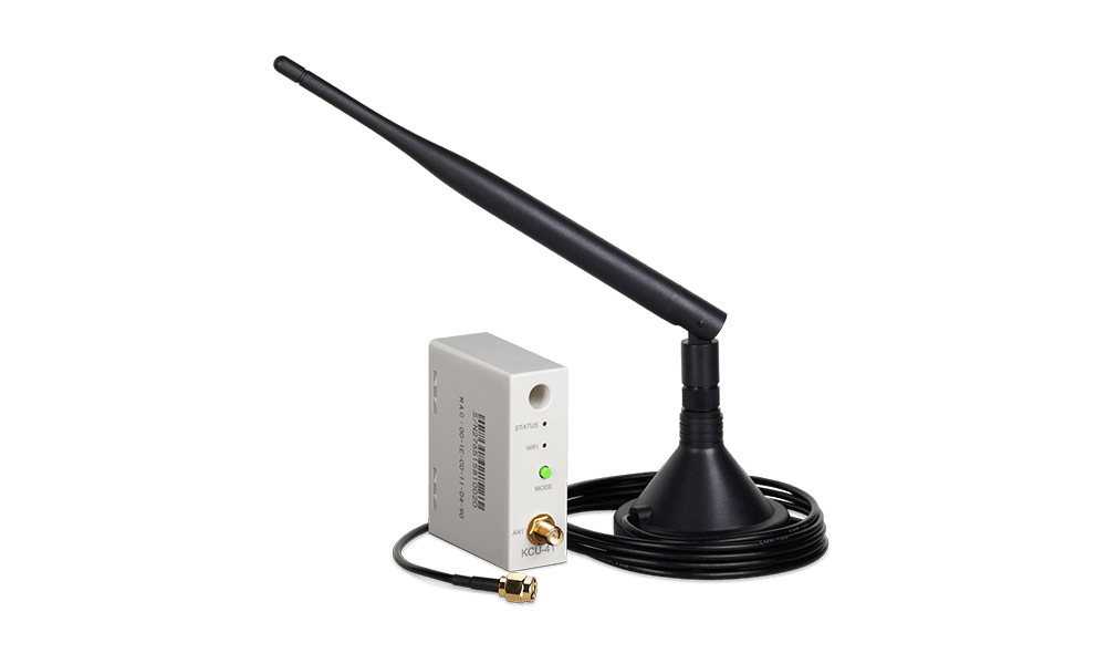 KCU-41 Wi-Fi Remote Communication Module supports WPS and SoftAP connection