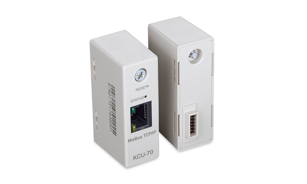 Modbus TCP/IP Remote Communication Module supports manual & automatic acquisition of IP network connection